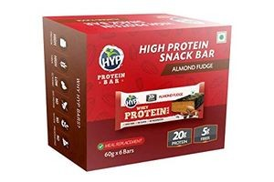 HYP Whey Protein Bar Pack of 6 (60g x 6) - Almond Fudge
