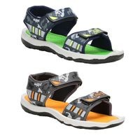Birde Multicolor Synthetic Sports Sandal for Men & Boys Combo of 2