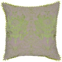 Reme Set of 2 Embroidered Cotton cushion cover