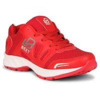 Beet Looks 2111 Red Sports Shoes Lace-Ups