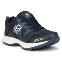Beet Looks 2111 Navy Blue Sports Shoes Lace-Ups