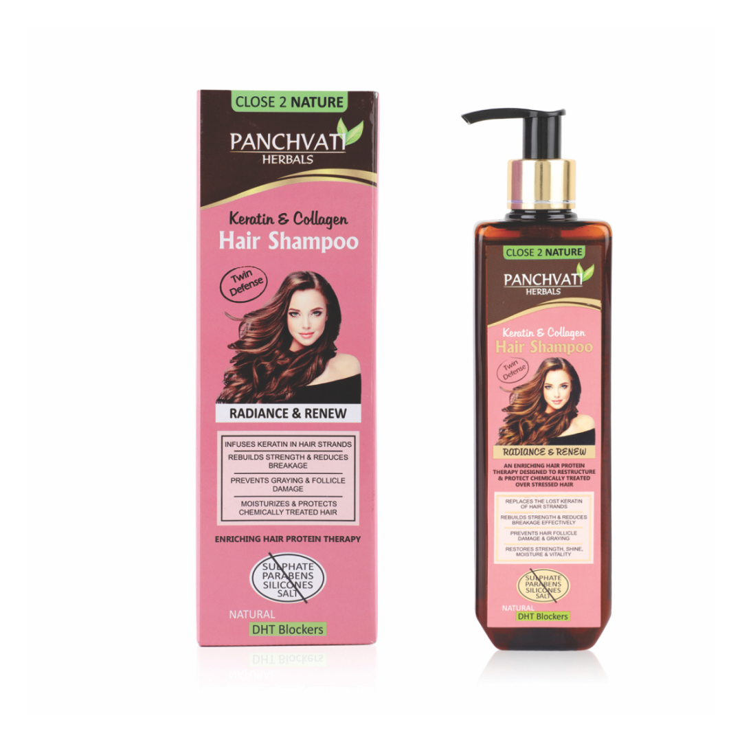 Keratin and Collagen Shampoo