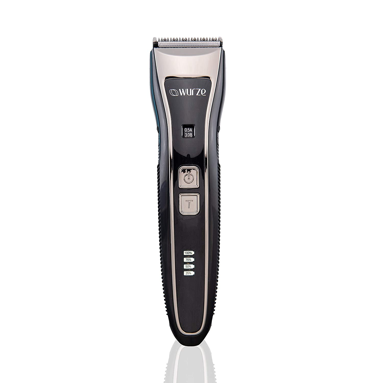 WURZE 1904 Wet & Dry Cordless Electric Hair Trimmer for Beard &Hair(Men) -A UniqueMultiGroomer - 2 SpecialCombs &40 settings - Rechargeable Lithium Battery with 90 min Usage& Charging Time