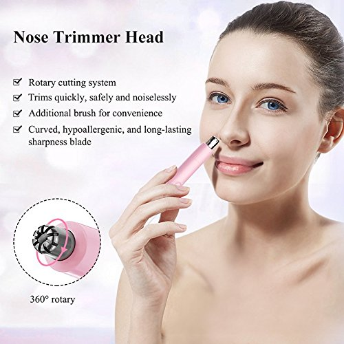 Touchbeauty Essentials 2 In 1 Electric Facial And Body Shaver For Women And Men - Battery Powered Tb-1458