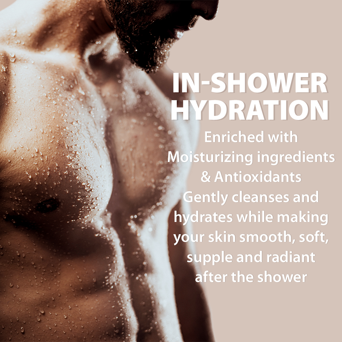 LetsShave Relaxing Aromatic Therapy Hydrating Body Wash, 250 ml