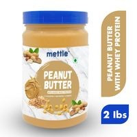 Mettle High Protein Peanut Butter 907g (With Added Whey Protein) (Non-GMO, Gluten Free)