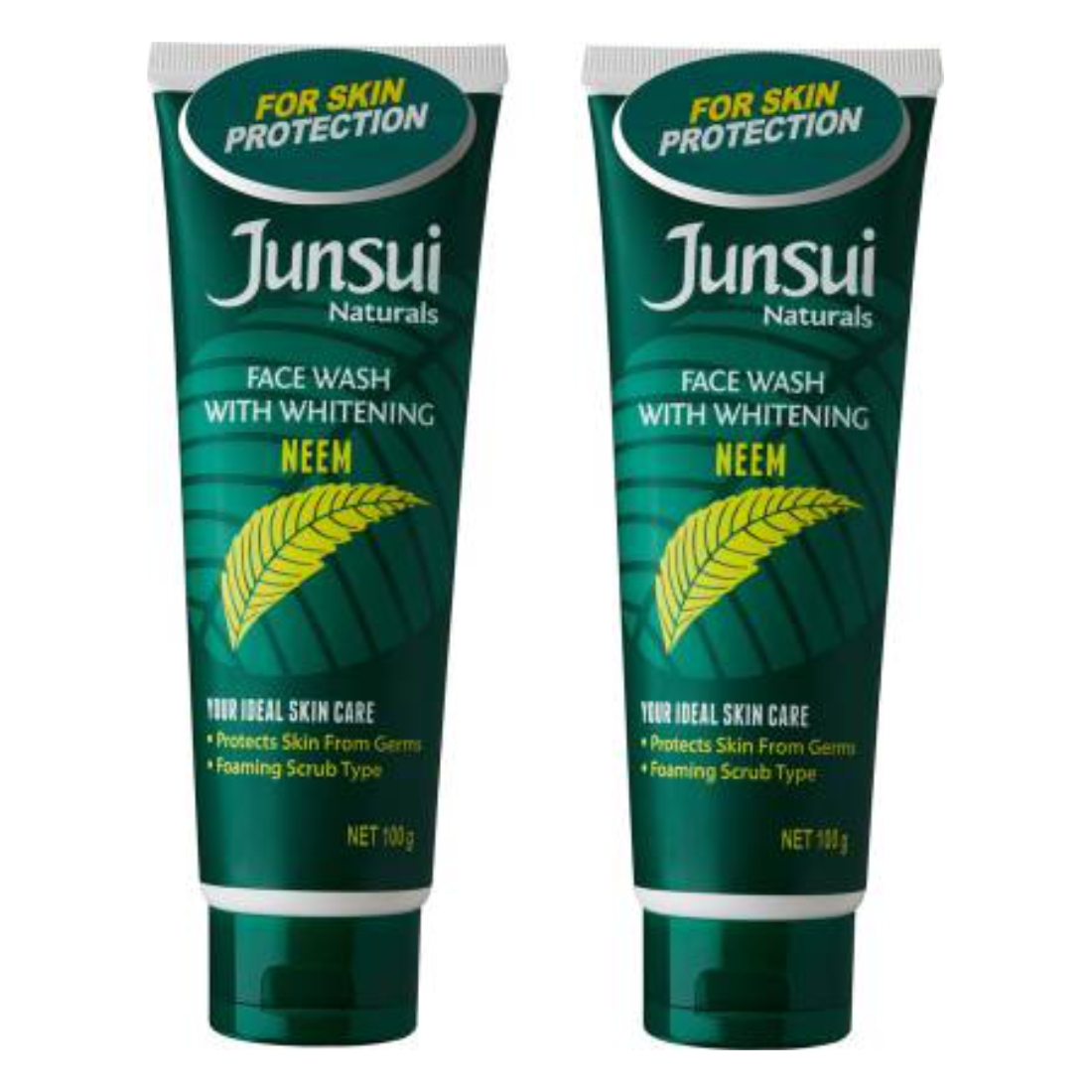 Junsui Naturals Face Wash with Whitening Skin Protection- Neem Face Wash????????(200 g)