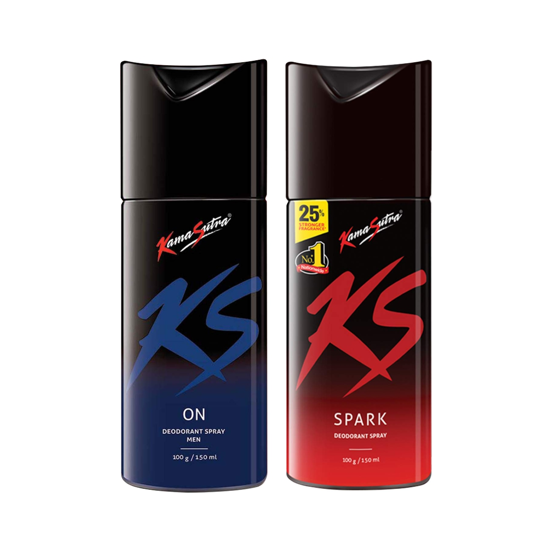 Kamasutra Spark And On Deo 150Ml Pack Of 2