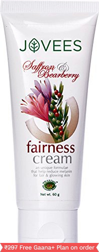 Jovees Saffron Bearberry Fairness Cream (Pack of 2)