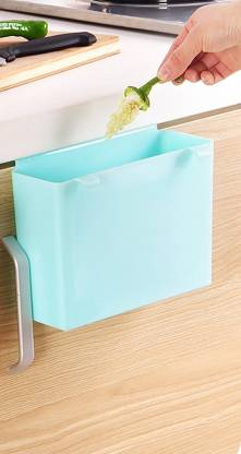 House of Quirk Plastic Kitchen Shelf Cabinet, Blue