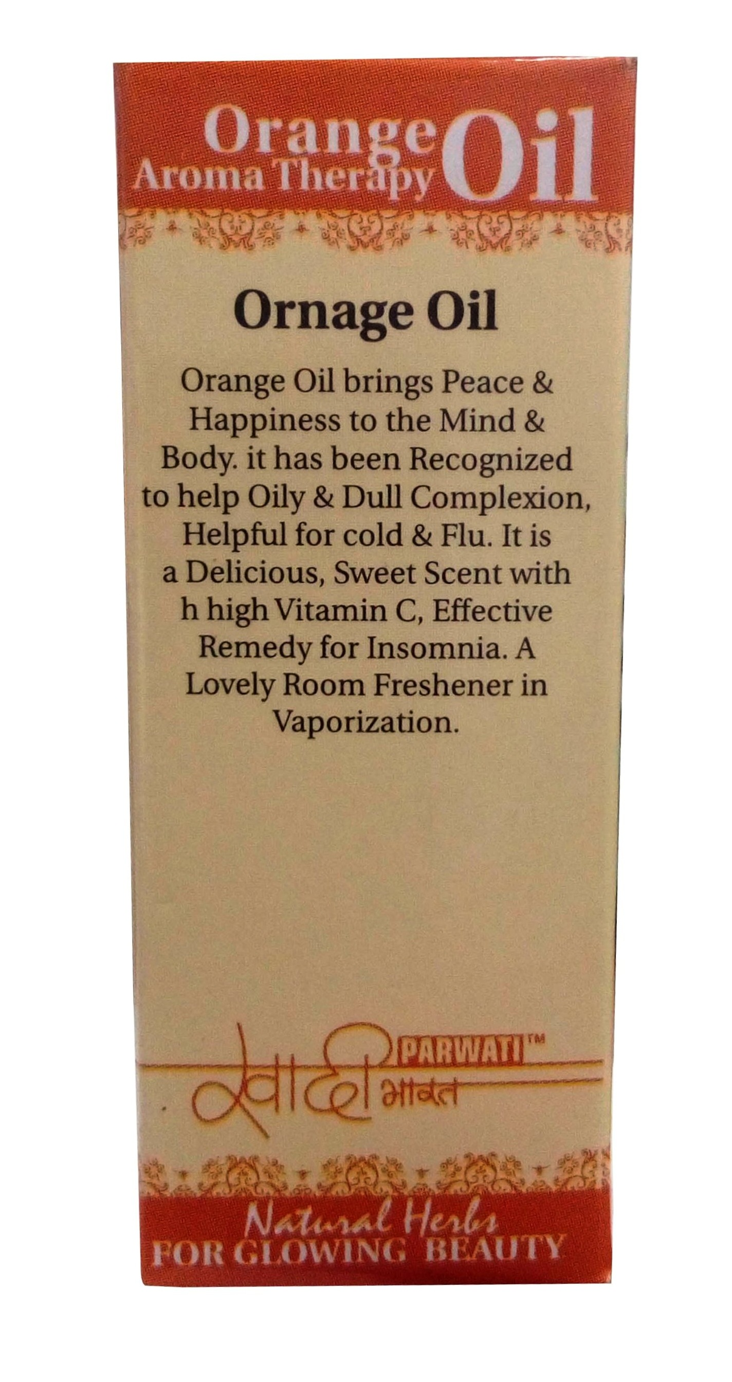 Khadi Herbal Orange Essential Oil 15Ml ( Pack Of 2 )