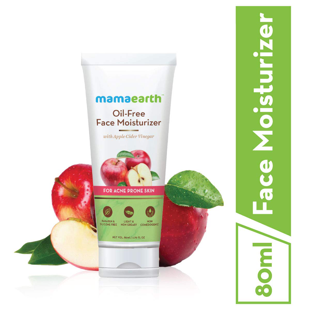 Mamaearth Oil-Free Moisturizer For Face With Apple Cider Vinegar For Acne Prone Skin