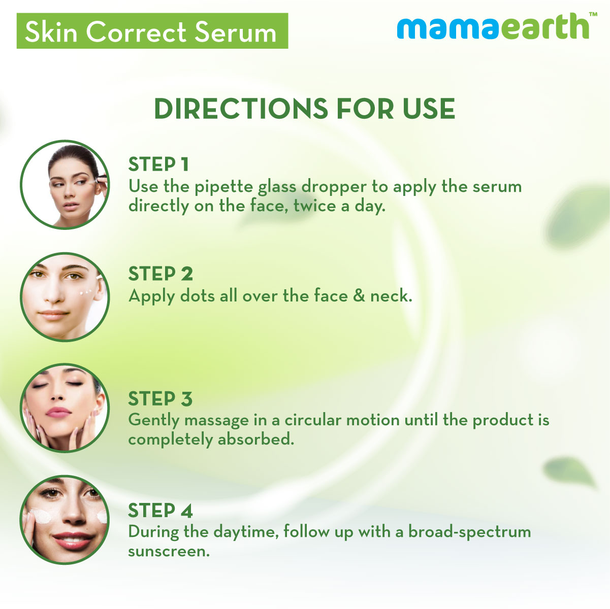 Mamaearth Skin Correct Face Serum with Niacinamide and Ginger Extract for Acne Marks & Scars - 30 ml