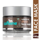 mCaffeine Naked And Rich Choco Face Mask With Sea Weed, Paraben Free