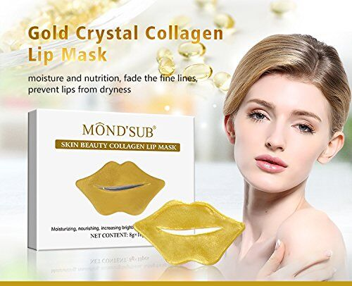 Mond'Sub Skin Beauty Collagen Lip Mask Pack 10
