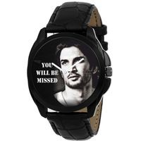 Men's Analog Graphic Dial Watch - Miss You Sushant