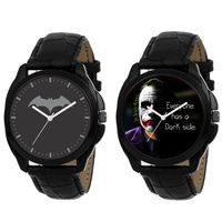 Vera Mode Combo of Two Graphics Watches