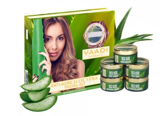 Vaadi Herbals Aloe Vera Facial Kit - 70 GM
