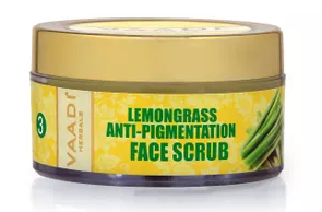 Vaadi Herbals Lemongrass Anti-Pigmentation Face Scrub
