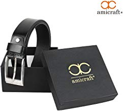 Amicraft Brown Leather Belt For Men