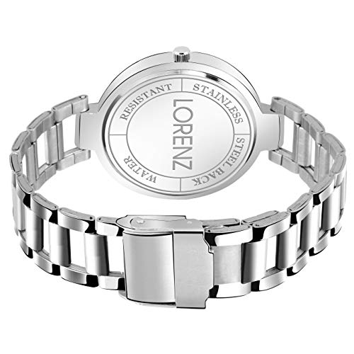 Lorenz Silver Stainless Steel Analog Watch