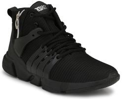 Afrojack Men's Zip Mesh Sneakers