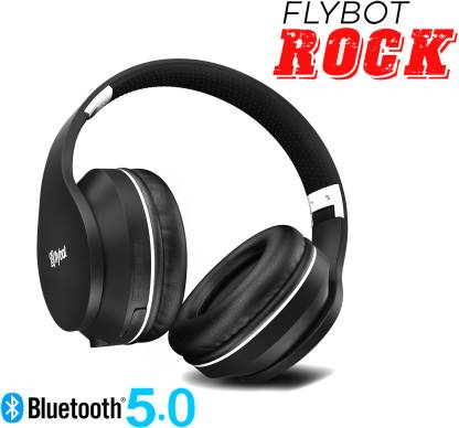 Flybot ROCK Headphone (Black & Silver)