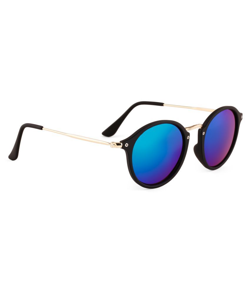 Life Roads Club Matser Reflective  Sunglasses Blue And green