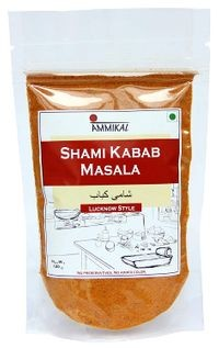 Ammikal Shami Kabab Masala (120g) | 100% Veg | Use with Mutton, Chicken, Chickpeas, Black Gram, Potatoes and More