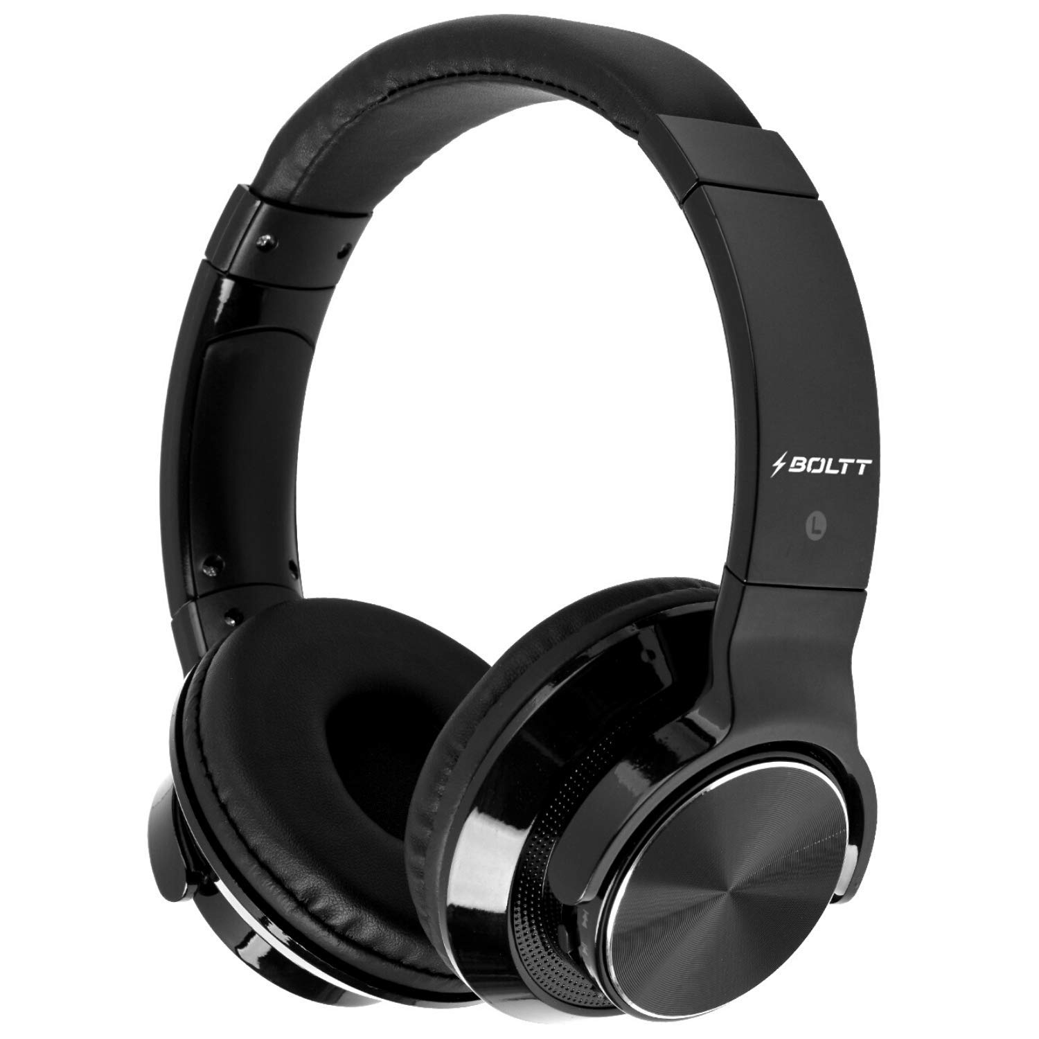 Fire-Boltt Blast 1300 On-Ear Metal Finish Bluetooth Headphone, 18-Hour Playtime, 40mm Driver with HD Sound & Ultra-Soft Ear Cushions