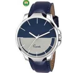 K&u Blue Analog Watch