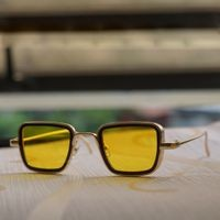 Branded Metal Body Square Inspired from Kabir Singh Sunglass for Men and Boys