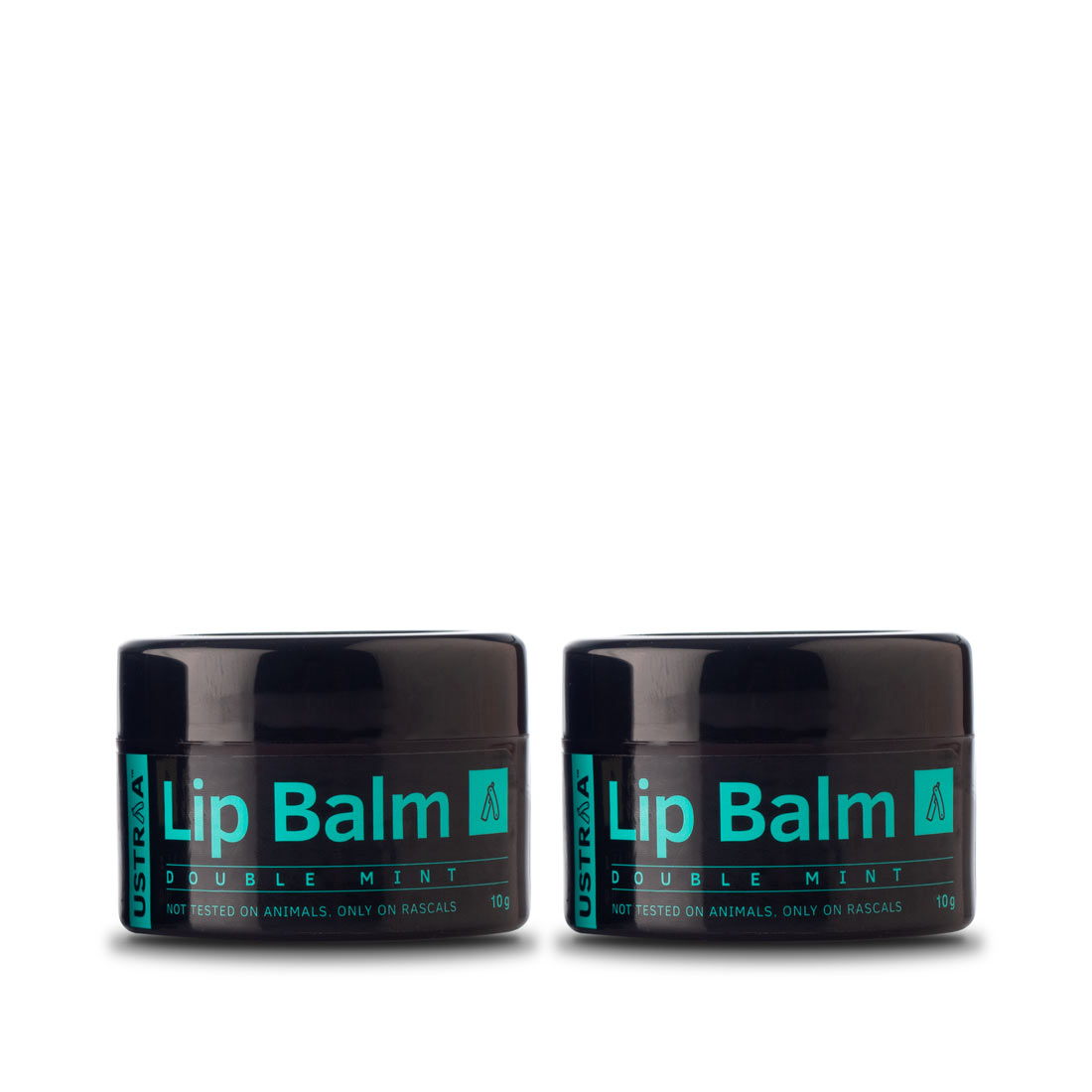 Ustraa Lip Balm (Double Mint) - Set of 2