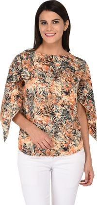 Nakoda Creation Casual Printed Women Multicolor Top