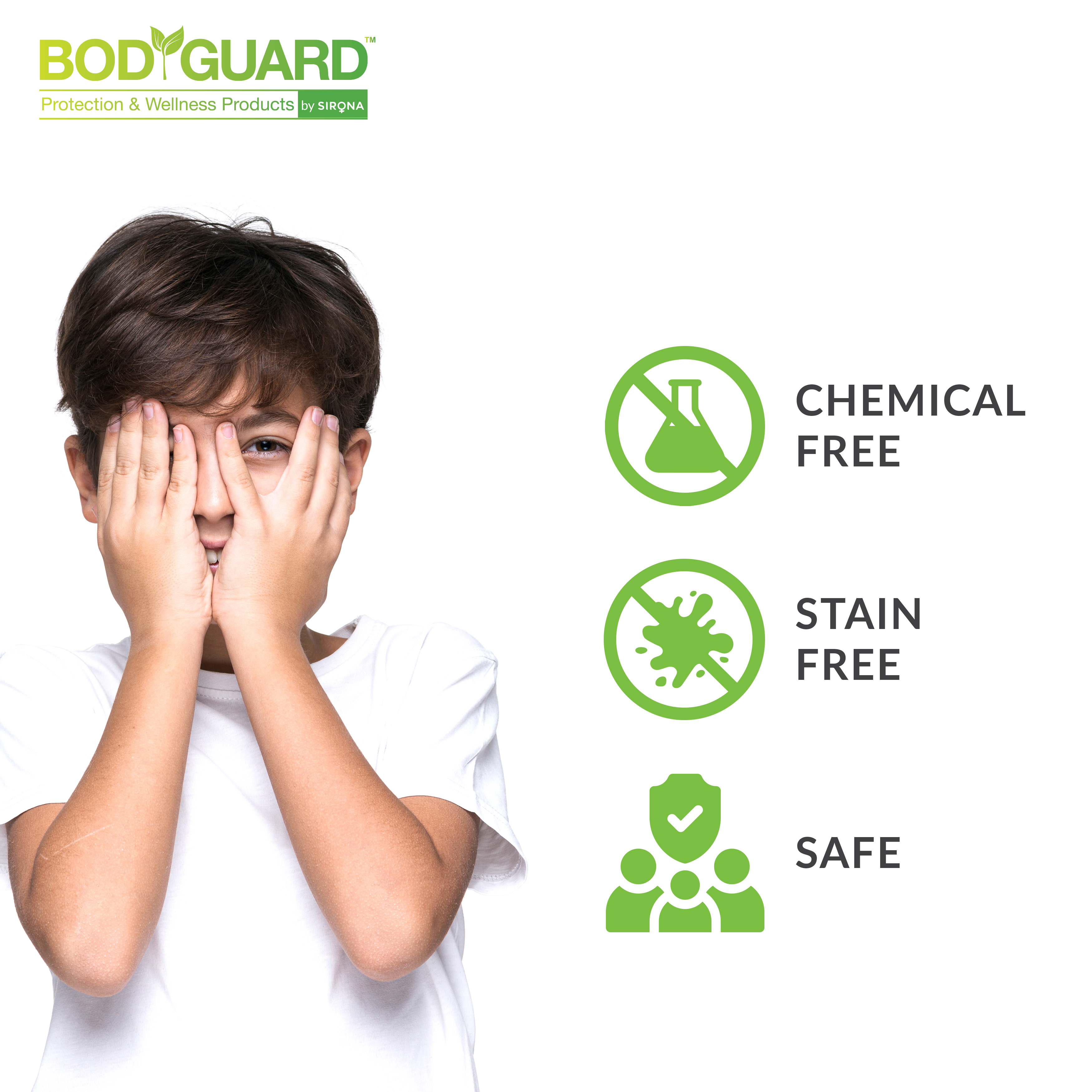 BodGuard Natural Mosquito Repellent Cream with Aloe Vera and Neem Extracts - 100 gm (Pack of 3)