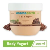 CoCo Body Yogurt For Skin, Lotion For Dry Skin,with Coffee and Cocoa for Rich Moisturization - 200 ml