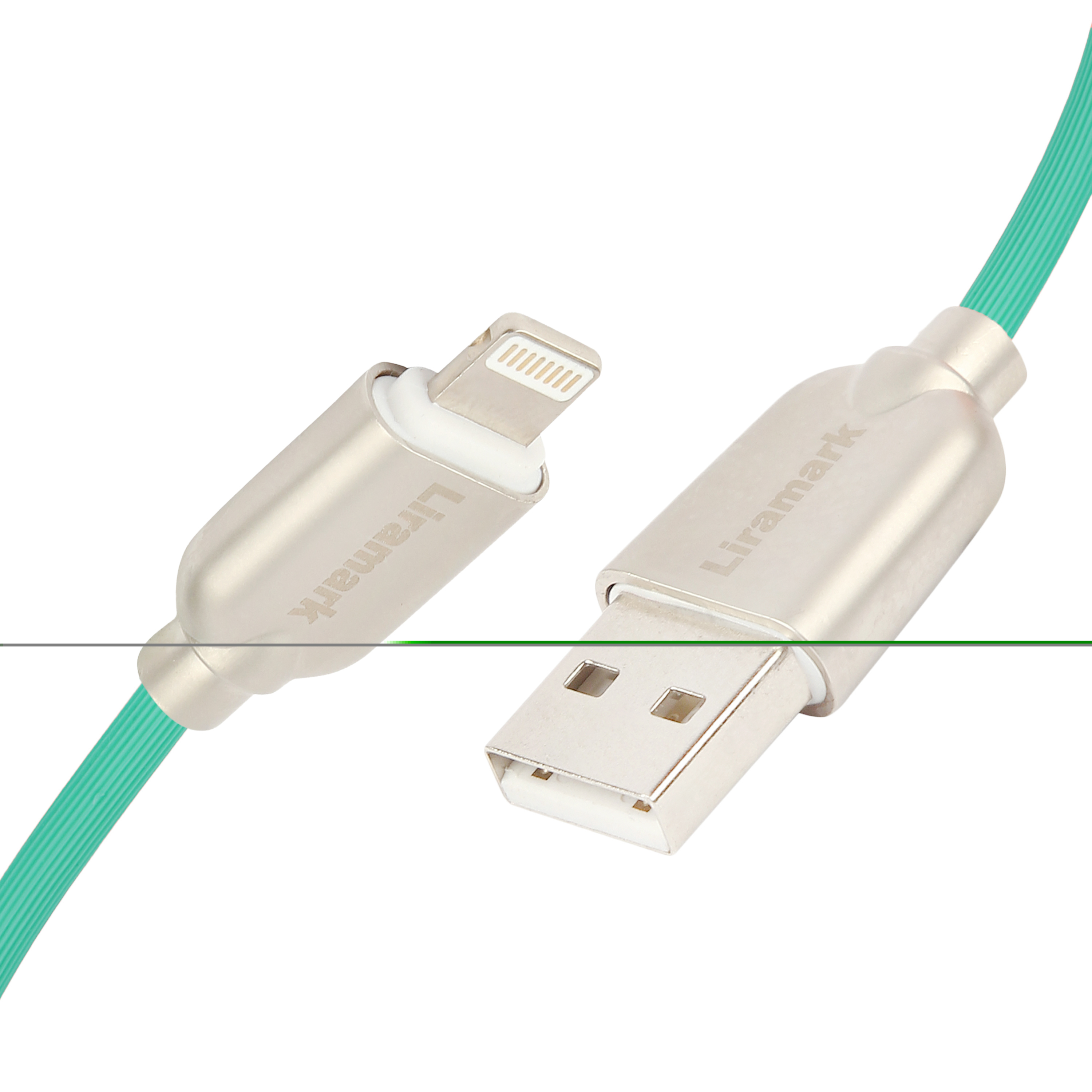 LIRAMARK 2m (6ft) Long Tough (Data/Charging) lightning Cable with Super Fast Charging up to 2.4Amps for Apple iPhone, iPad, iOS