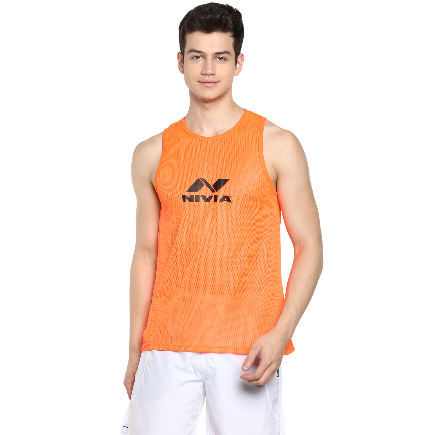 NIVIA Orange Training Bibs (860-4)