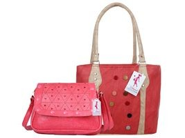 Ritupal Collection Red Solid Totes For Women