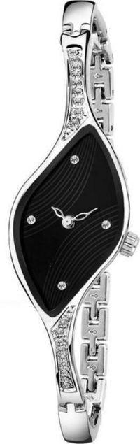 HRV Latest Black Dial Analog Watch For Women Watch