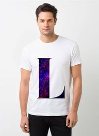 HamsaMART White Round Neck Printed T-Shirt For Men -T475