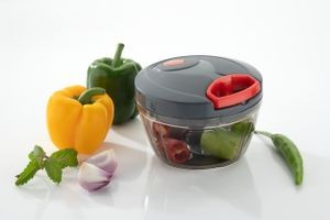 MOUNTHILLS Handy Plastic Chopper with 3 Blades 500ml (Black, Pack of 1)