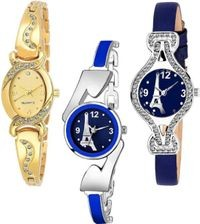 HRV L_1071 Pack Of 3 Watches For Girls Watch - For Women Pack Of 3