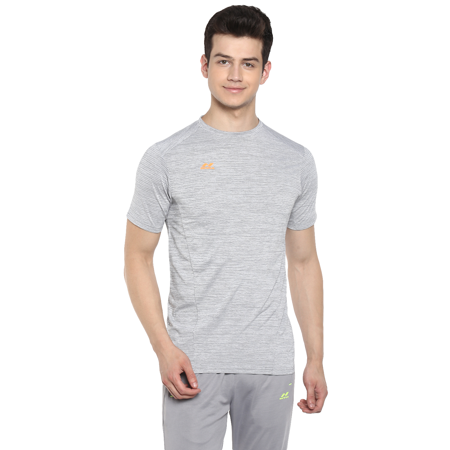 NIVIA Grey Hydra-13 T-Shirt (5077-2)