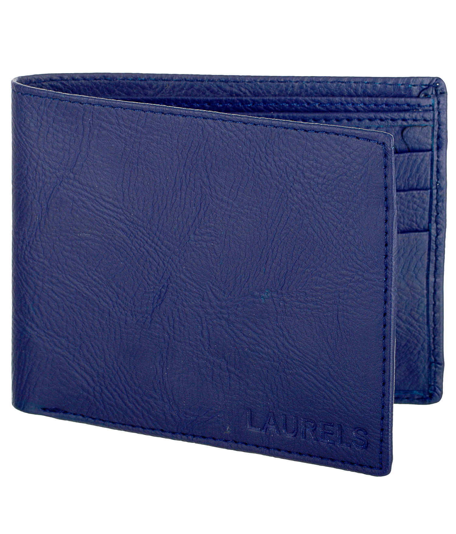 Laurels BLUE PU Wallets For Men