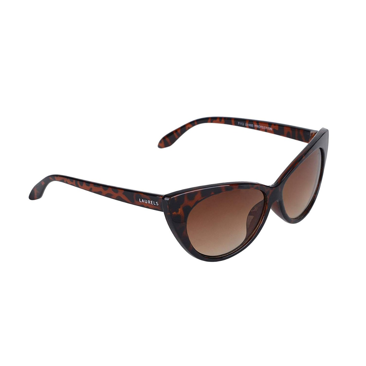Walrus Black Polycarbonate Round Frames Sunglass For Men