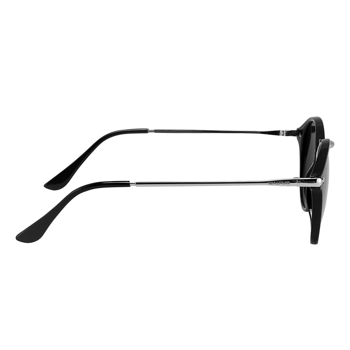 Walrus Black Metal Oval Frames
