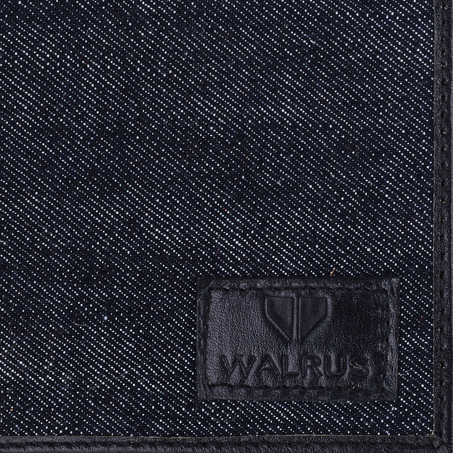 Walrus BLACK PU WalletsFor Men