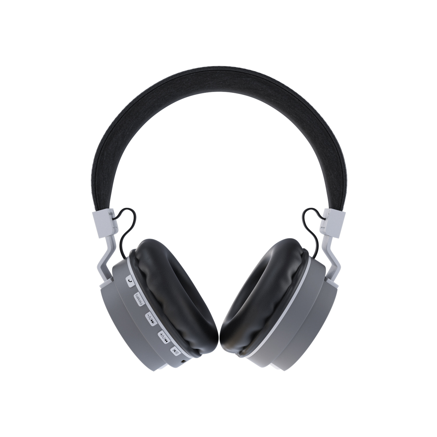 CORSECA Carnival On-Ear Wireless Headphones with Built in Mic DM6200 (Grey)