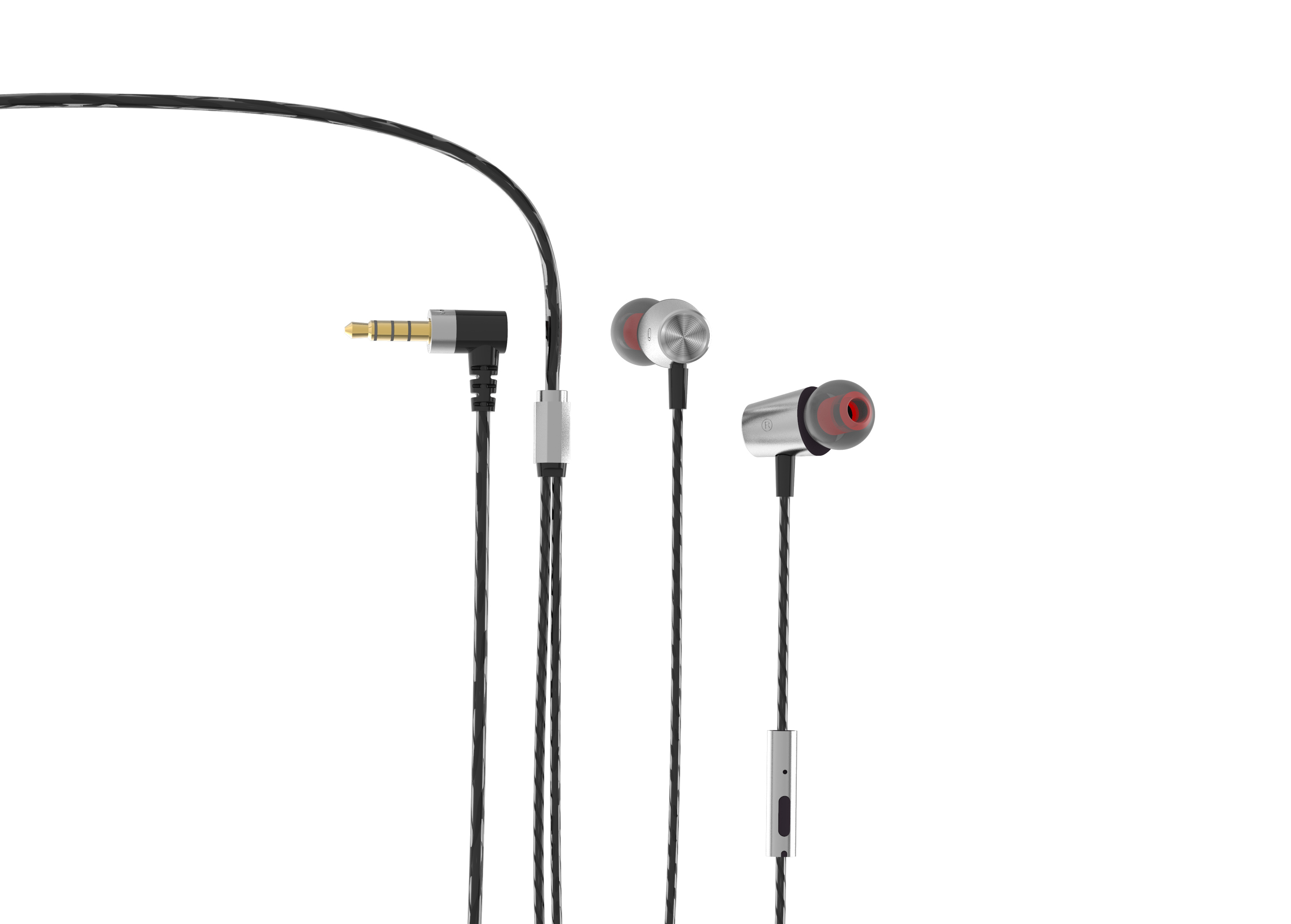 Debock E19 Metal Wired Earphone With Mic